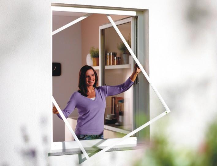 Die Spannrahmen für Fenster von Insektenschutz Magdeburg sind verwindungssteif, stabil und extrem lange haltbar!
