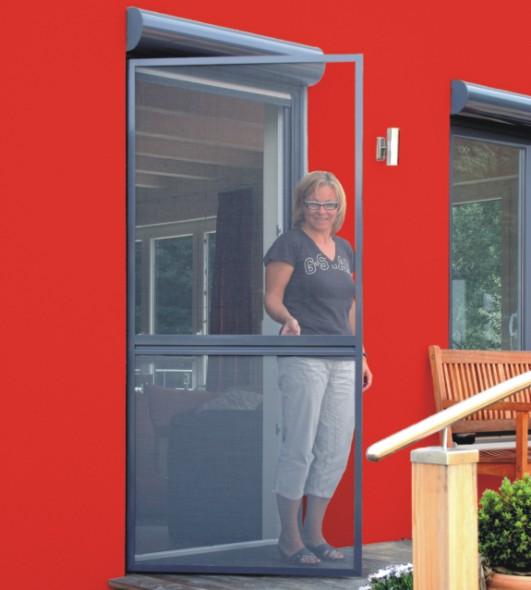 Fliegengitter und Insektenschutz Magdeburg  baut besonders stabile Drehrahmen für Türen!